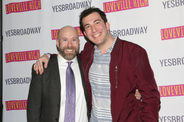 Photo Flash: David Cromer, BE MORE CHILL's Troy Iwata, And More Celebrate Launch Of LOVEVILLE HIGH