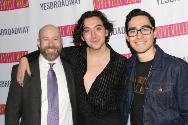 David Zellnik, Mason Alexander Park, and Troy Iwata