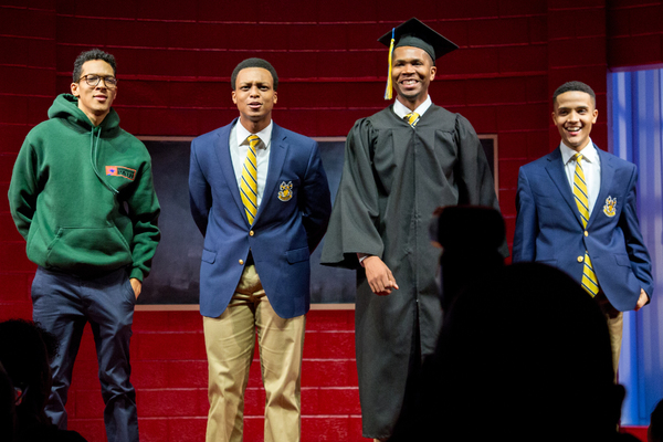 Photo Coverage: The Cast of CHOIR BOY Celebrates Opening Night