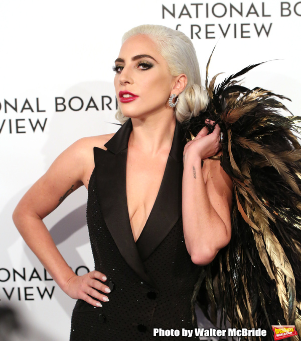 Photo Coverage: Lady Gaga, Bradley Cooper, and More Hit the Red Carpet At the National Board Of Review Gala