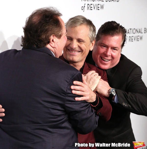 Nick Vallelonga, Viggo Mortensen and  Brian Currie