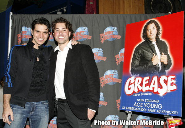 Derek Keeling & Ace Young attend American Idol Heartthrob Ace Young after making his  Photo
