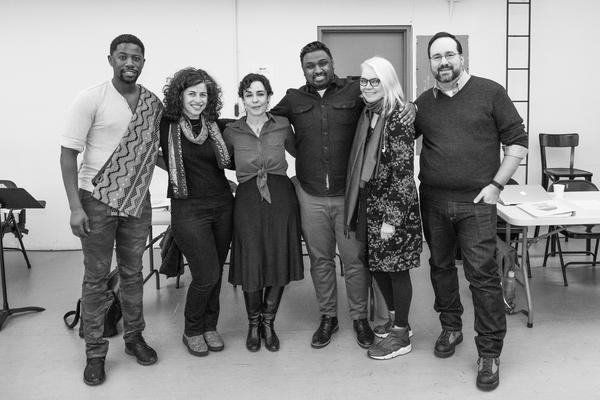 Atandwa Kani, Barbara Rubin, Yaël Farber, Amith Chandrashaker, Susan Hilferty, and Photo