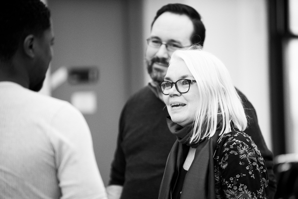 Photo Flash: In Rehearsal With Signature Theatre's BOESMAN AND LENA