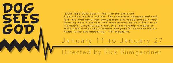 BWW Interview: DOG SEES GOD at Roxy's Downtown, A ground-breaking play about the coming of age