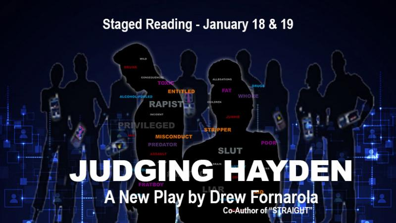 BWW Interview: Utah Rep to Stage Development Reading of NYC Playwright Drew Fornarola's JUDGING HAYDEN, After Producing the Playwright's Regional Premiere of STRAIGHT