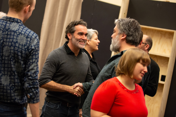 Brian d'Arcy James and Jez Butterworth