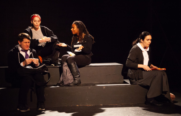 Jeff Hodge, Shannon Hartman, Daraja Hinds, and Sarah Leach Photo
