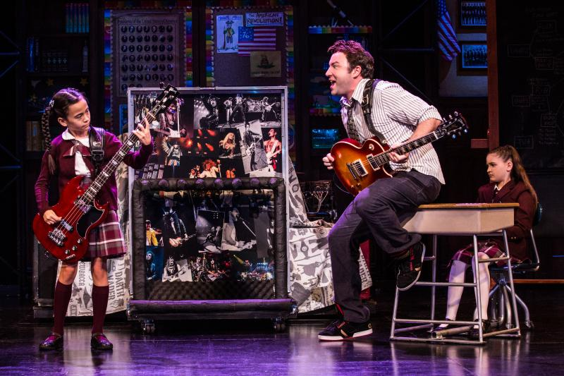 BWW Review: SCHOOL OF ROCK THE MUSICAL Brings a Rocking Time To  Broadway Grand Rapids, With It's Impressive Young Musicians!