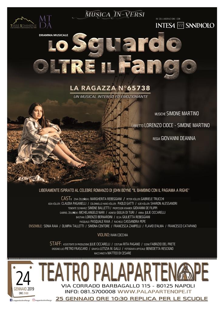 LO SGUARDO OLTRE IL FANGO - LA RAGAZZA N°65738 arriva a Napoli