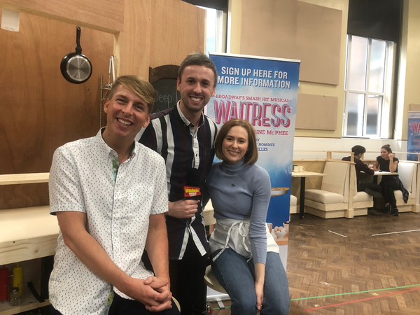 Photo Flash: Inside The Launch of London's WAITRESS
