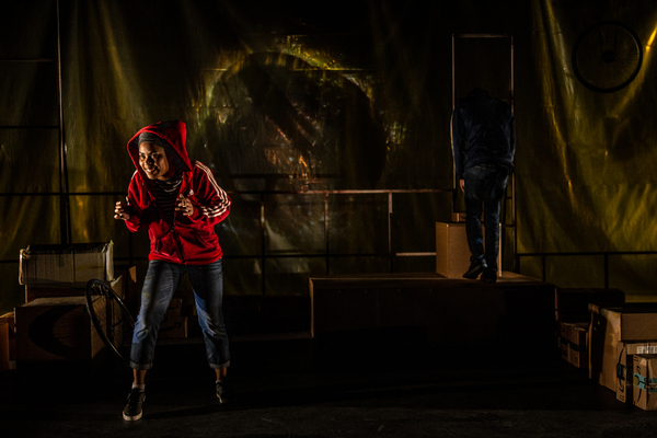 Photo Flash: RED BIKE Opens Tonight at Know Theatre