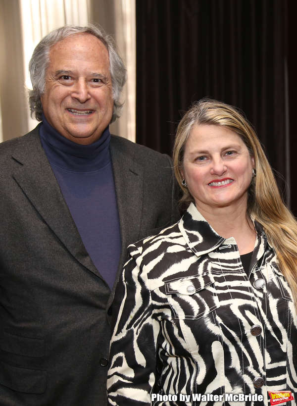 BroadwayHD's Stewart Lane and Bonnie Comley Photo