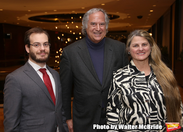 BroadwayHd's Hal Berman, Bonnie Comley and Stewart Lane  Photo