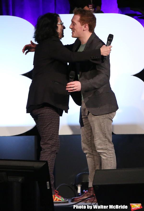 Tina Landau and Ethan Slater
