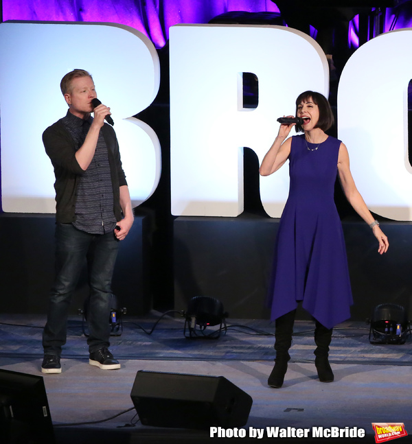 Anthony Rapp and Susan Egan