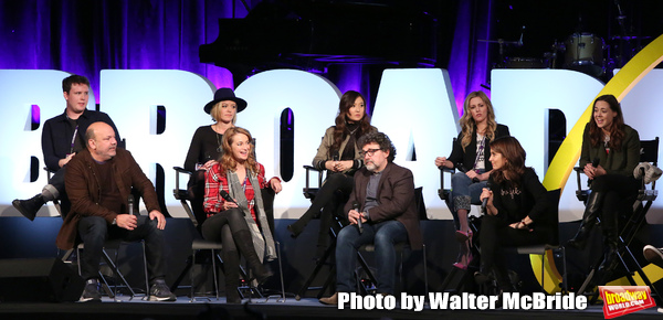 Grey Henson, Casey Nicholaw, Kate Rockwell, Nell Benjamin, Ashley Parker, Jeff Richmo Photo