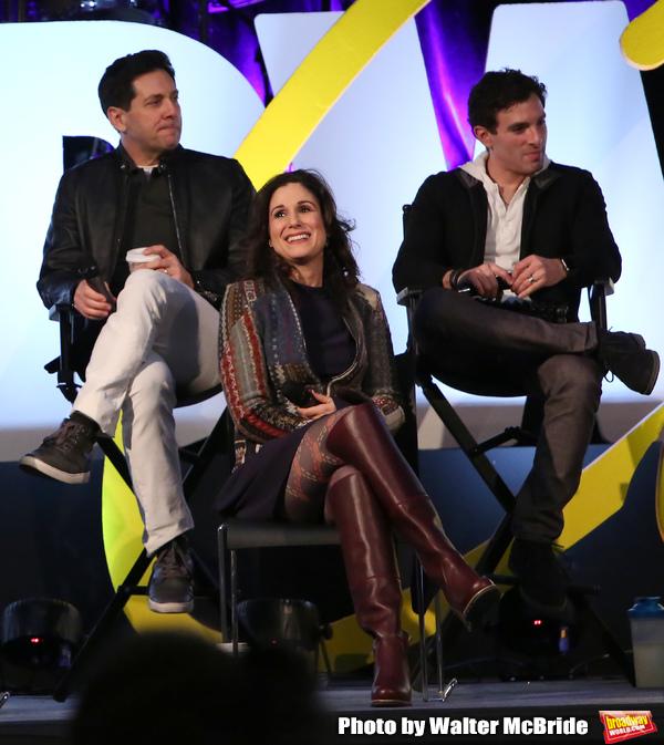 Michael Berresse, Stephanie J. Block and Jarrod Spector