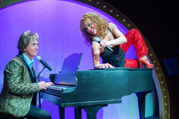Photo Flash: First Look at BETTE AND BARRY: FROM BATHHOUSE TO BROADWAY At Island City Stage