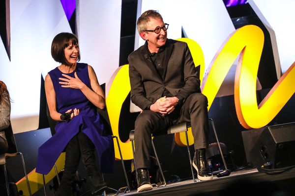Susan Egan and Thomas Schumacher