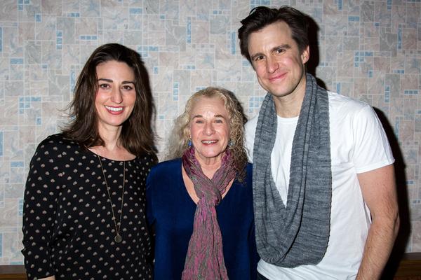 Sara Bareilles, Carole King, Gavin Creel Photo