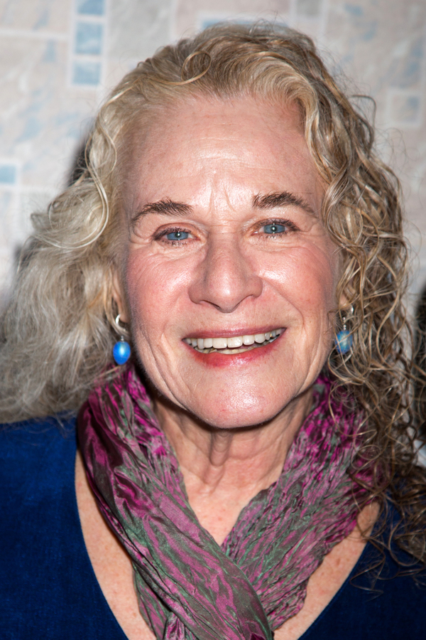 Photo Coverage: Carole King Visits WAITRESS