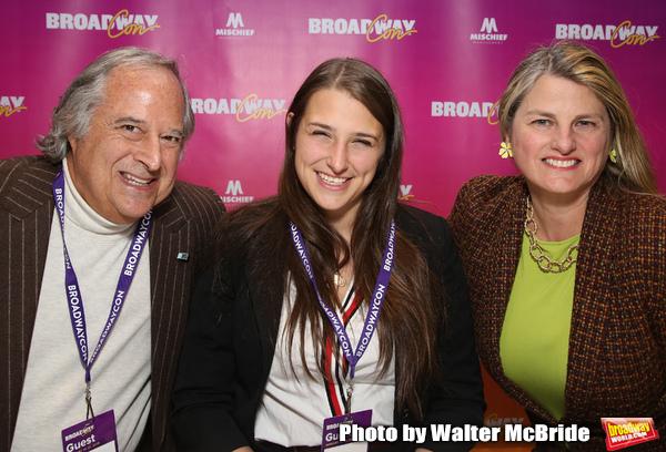 Stewart F. Lane, Leah Lane and Bonnie Comley