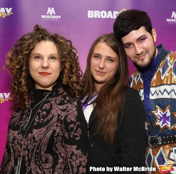 Ellie Heyman, Leah Lane and Max Vernon