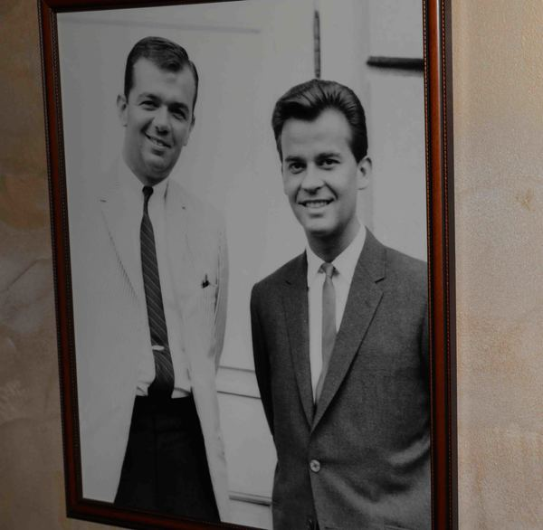 DIck Robinson & Dick Clark Photo