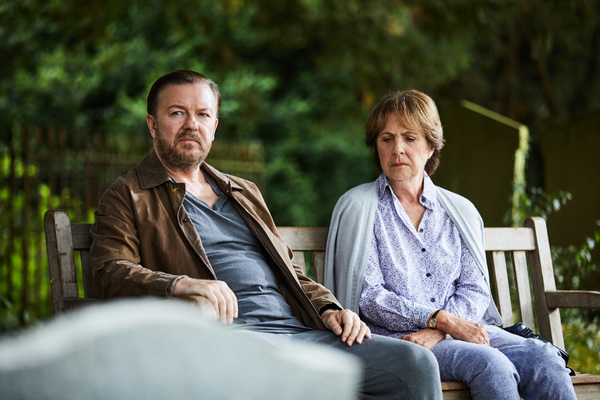 Photo Flash: First Look at the Netflix Original Series AFTER LIFE Starring Ricky Gervais