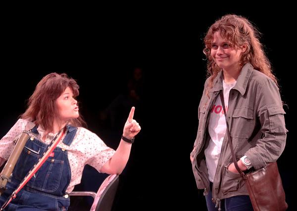 Lorrie (Bree Welch) and April (Skyler Sinclair)