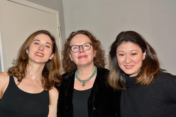 Kate Abbruzzese, Maryann Plunkett and Jennifer Lim