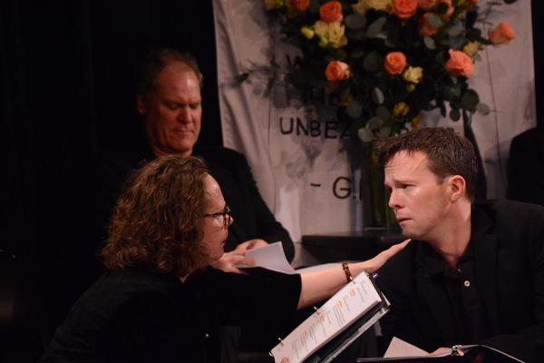 Maryann Plunkett and Andrew Fallaize