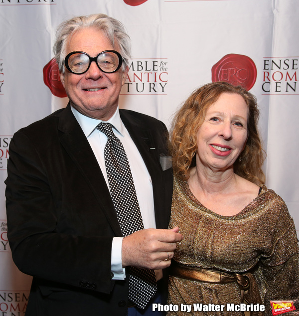 Donald T. Sanders and Eve Wolf  Photo