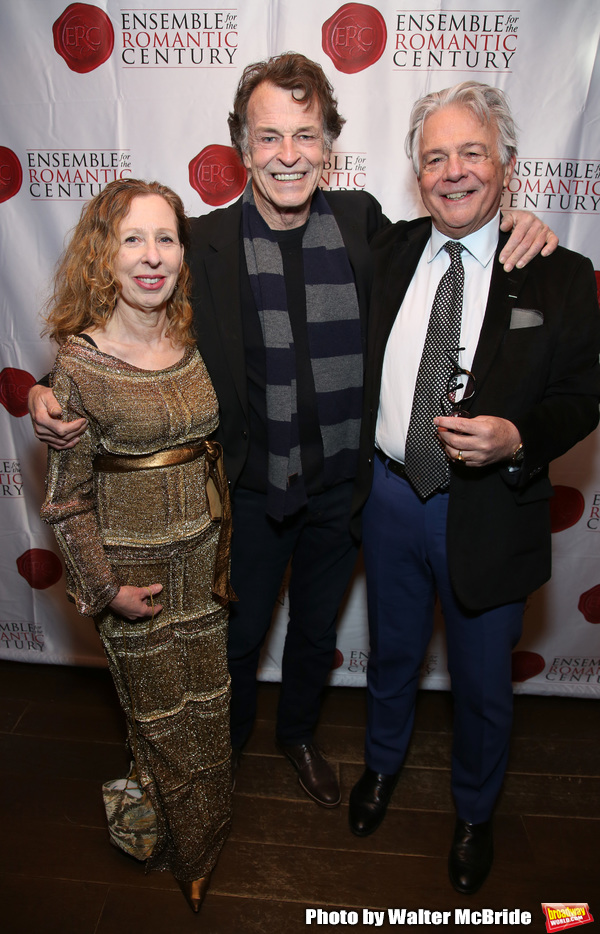Eve Wolf, John Noble and Donald T. Sanders Photo