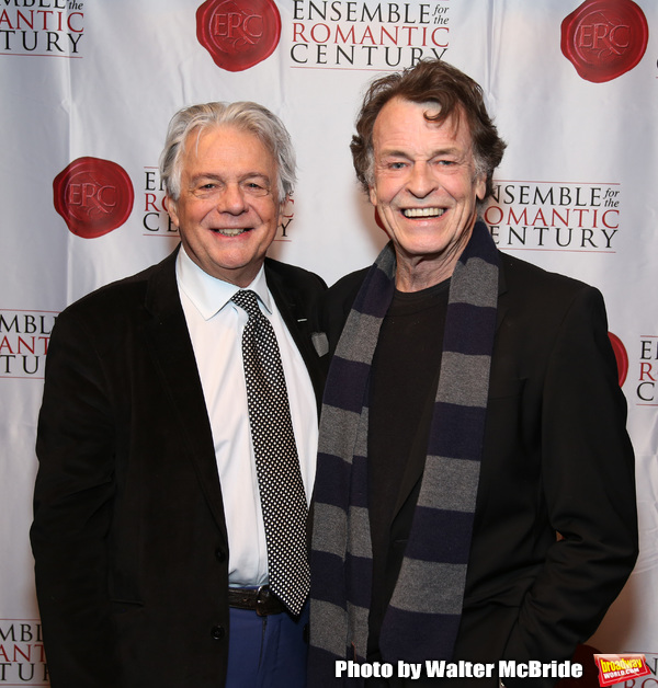 Donald T. Sanders and John Noble Photo