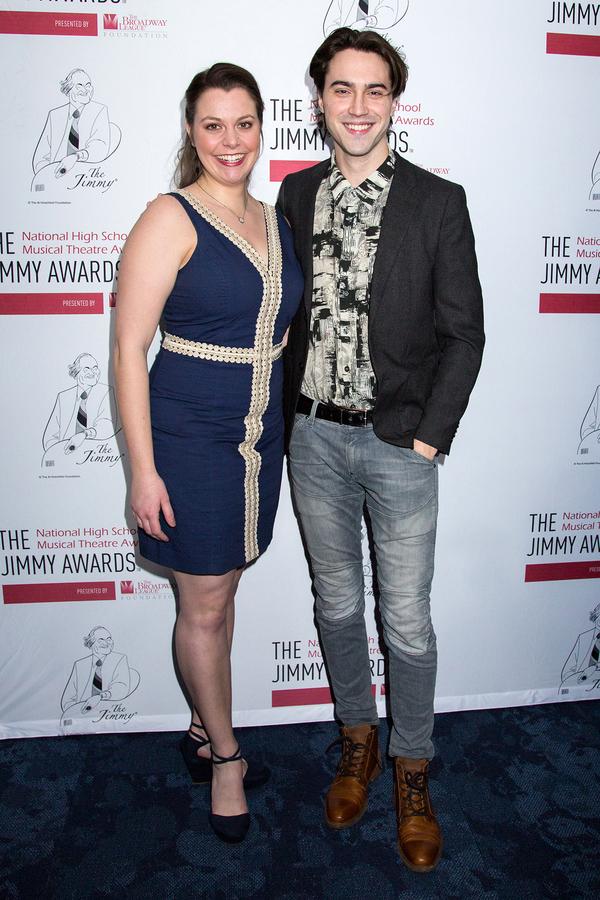 Elizabeth Romero (Jimmys 2012) with Ryan McCartan (Jimmys 2011)