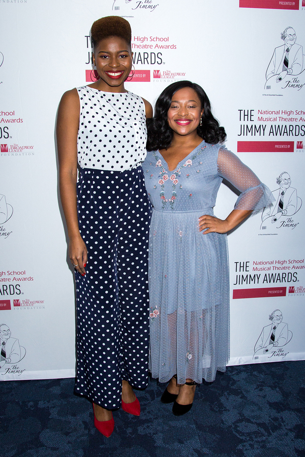 Marla Louissaint (Jimmys 2015) and Erica Durham (Jimmys 2012) Photo