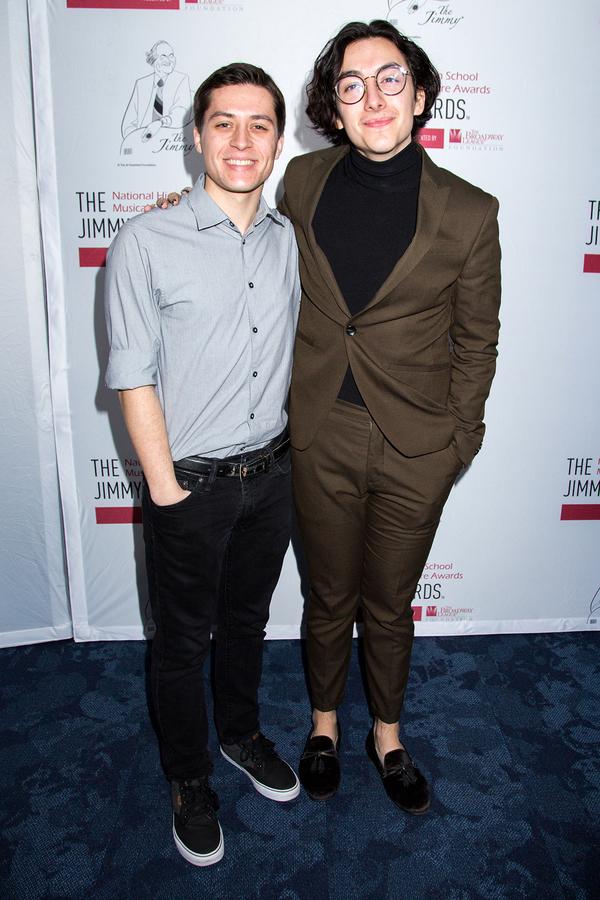Josh Strobl (Jimmys 2016) and Mason Alexander Park (Jimmys 2012)