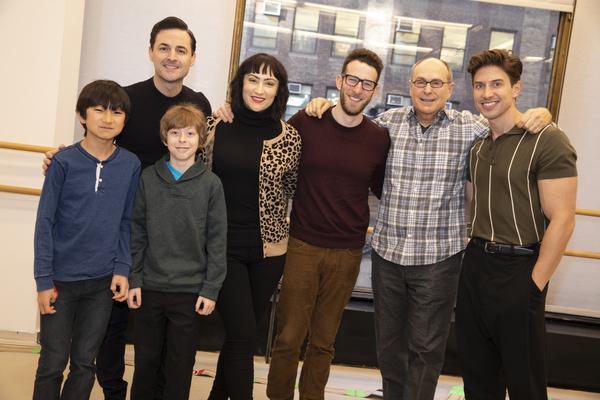 Jim Kaplan, Max von Essen, Thatcher Jacobs, Eden Espinosa, Nick Blaemire, James Lapine and Nick Adams