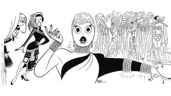 Gentlemen Prefer Blondes Jack McCauley, Eric Brotherson, George S. Irving, Yvonne Adair, and Carol Channing, 1949