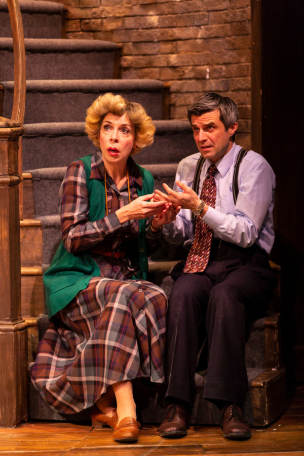 Ellen Harvey (Dotty Otley) and Michael Crane (Garry Lejeune)