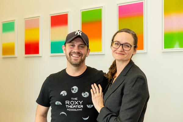 Daniel Talbott and Addie Johnson Talbott