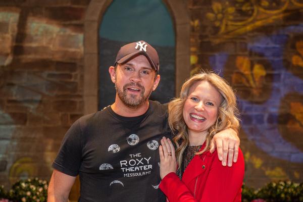 Daniel Talbott and Jessica Dickey