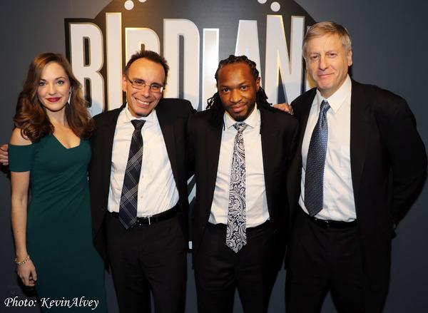 Laura Osnes, Tedd Firth, Mark McLean, David Finck Photo