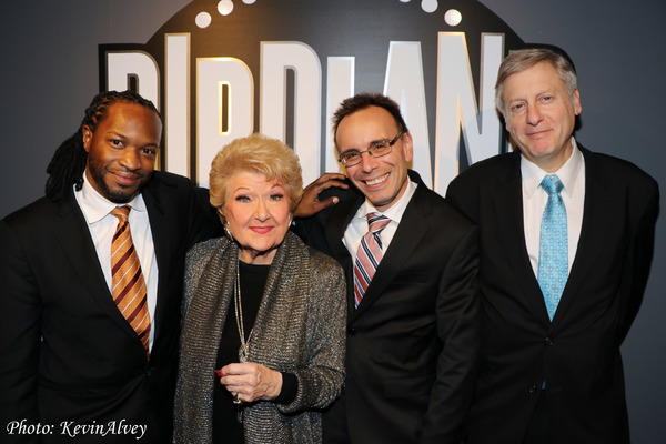 Mark McLean, Marilyn Maye, Tedd Firth, David Finck Photo