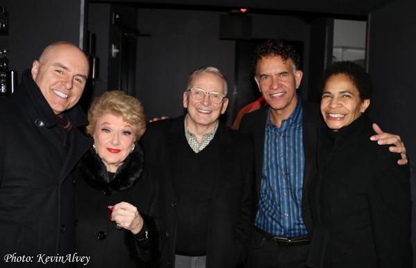 Joe McFate, Marilyn Maye, Bob Mackie, Brian Stokes Mitchell, Allyson Tucker Photo