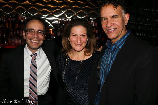Tedd Firth, Ana Gasteyer, Brian Stokes Mitchell