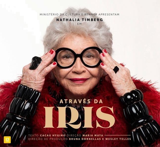 BWW Review: Celebrating Her 90 Years, Nathalia Timberg Gives Life to Iris Apfel, World Fashion Icon, in ATRAVES DA IRIS (Through the Iris)