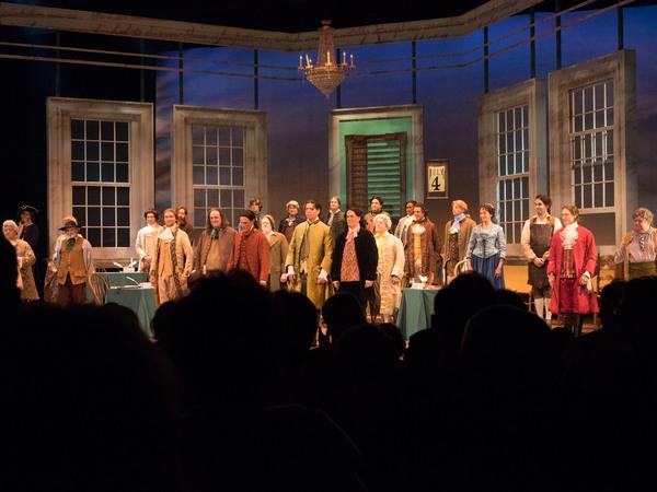 Photo Coverage: Curtain Call And Press Night Celebration of 1776 THE MUSICAL At La Mirada